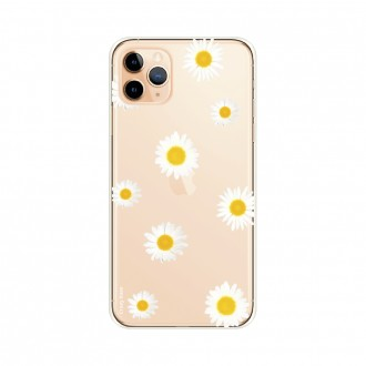 Coque iPhone 11 Pro Max souple Marguerite Crazy Kase