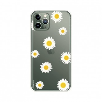 Coque iPhone 11 Pro souple Marguerite Crazy Kase