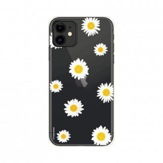 Coque iPhone 11 souple Marguerite Crazy Kase