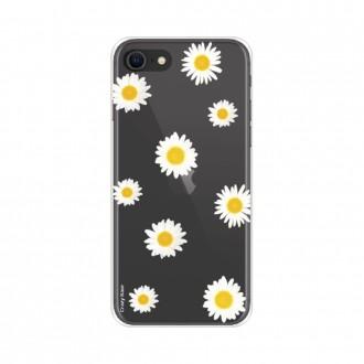 Coque iPhone SE (2020) souple Marguerite Crazy Kase
