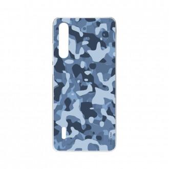 Coque Xiaomi Mi A3 souple Camouflage militaire bleu Crazy Kase
