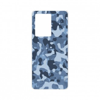 Coque Samsung Galaxy S20 Ultra souple Camouflage militaire bleu Crazy Kase