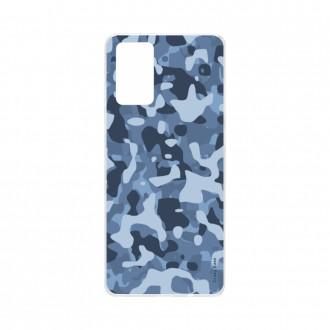 Coque Samsung Galaxy S20 Plus souple Camouflage militaire bleu Crazy Kase