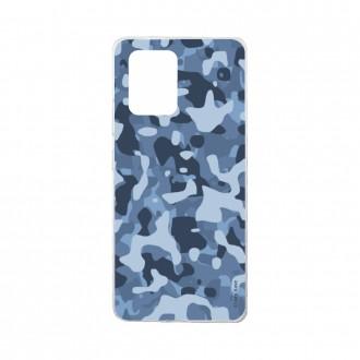 Coque Samsung Galaxy S10 Lite souple Camouflage militaire bleu Crazy Kase