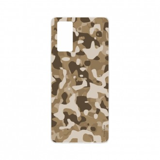Coque Samsung Galaxy S20 souple Camouflage militaire désert Crazy Kase