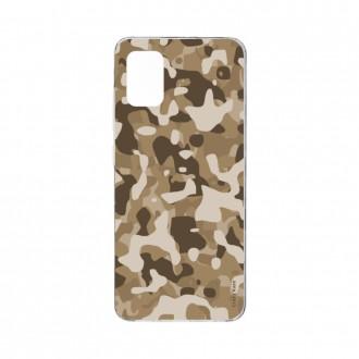 Coque Samsung Galaxy A71 souple Camouflage militaire désert Crazy Kase