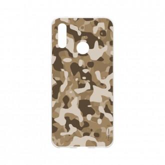 Coque Huawei Y7 2019 souple Camouflage militaire désert Crazy Kase