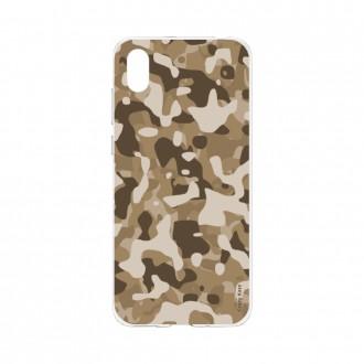 Coque Huawei Y5 2019 souple Camouflage militaire désert Crazy Kase