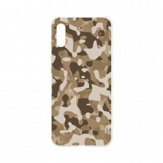 Coque Huawei Y6 2019 souple Camouflage militaire désert Crazy Kase