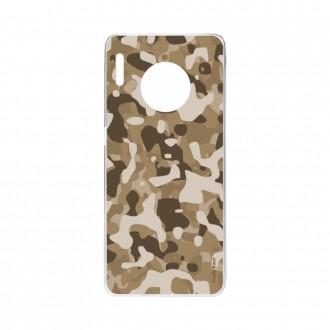 Coque Huawei Mate 30 Pro souple Camouflage militaire désert Crazy Kase