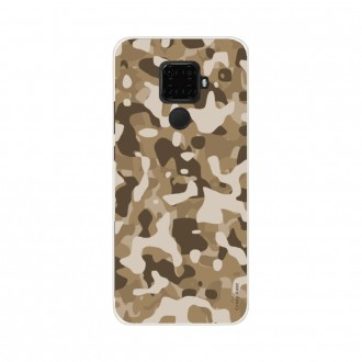 Coque Huawei Mate 30 Lite souple Camouflage militaire désert Crazy Kase
