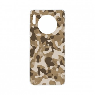 Coque Huawei Mate 30 souple Camouflage militaire désert Crazy Kase
