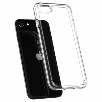 Spigen Coque iPhone SE (2020), iPhone 8, iPhone 7 Ultra Hybrid 2 transparente