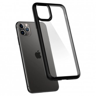 Spigen Coque iPhone 11 Pro Ultra Hybrid noir mat