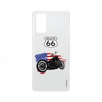 Coque pour Samsung Galaxy S20 souple Moto Harley Davidson - Crazy Kase