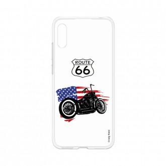 Coque pour Huawei Y6 2019 souple Moto Harley Davidson - Crazy Kase