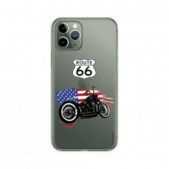 Coque pour iPhone 11 Pro souple Moto Harley Davidson - Crazy Kase