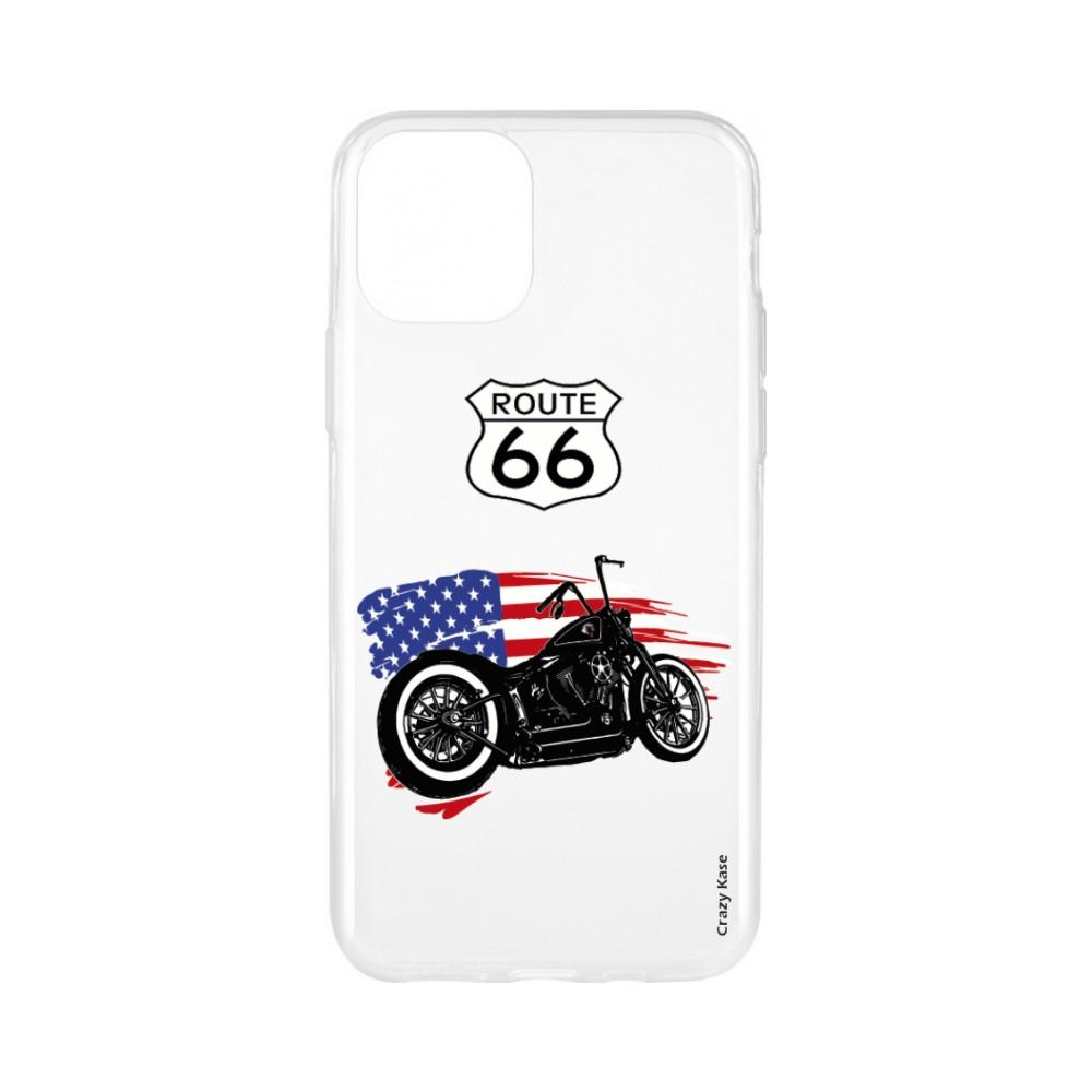 Coque pour iPhone 11 souple Moto Harley Davidson - Crazy Kase