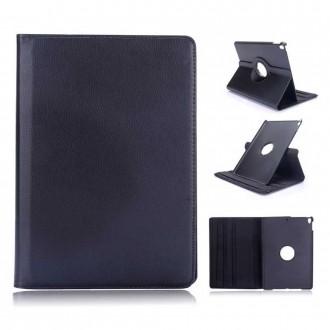 Etui iPad Pro 10.5 Rotatif 360° Noir uni Crazy Kase