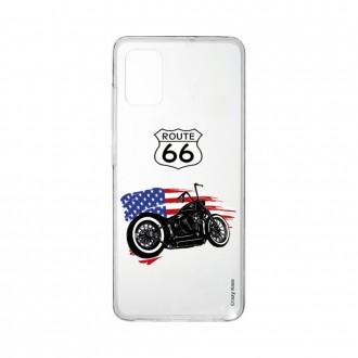 Coque pour Samsung Galaxy A41 souple Moto Harley Davidson Crazy Kase
