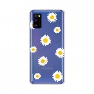 Coque pour Samsung Galaxy A41 souple Marguerite Crazy Kase