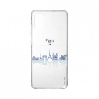 Coque pour Samsung Galaxy A41 souple Monuments de Paris Crazy Kase