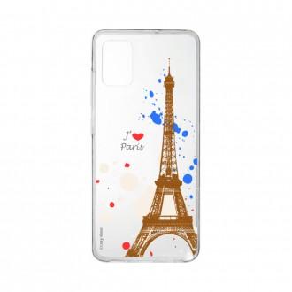 Coque pour Samsung Galaxy A41 souple Paris Crazy Kase
