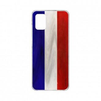 Coque pour Samsung Galaxy A41 souple Drapeau Français Crazy Kase