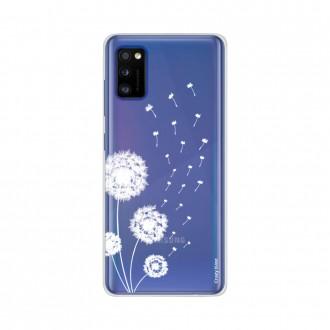 Coque pour Samsung Galaxy A41 souple Fleur de pissenlit Crazy Kase