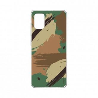Coque pour Samsung Galaxy A41 souple Camouflage Crazy Kase