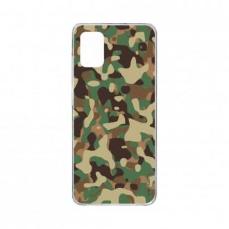 Coque pour Samsung Galaxy A41 souple Camouflage militaire Crazy Kase