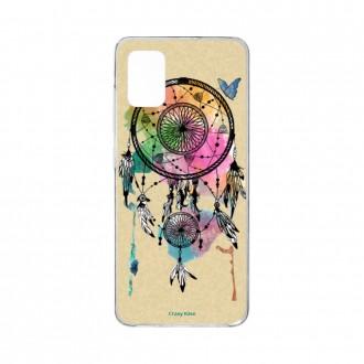 Coque pour Samsung Galaxy A41 souple Attrape rêve et papillon Crazy Kase