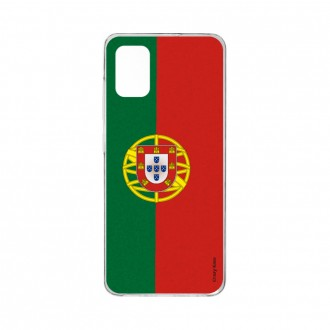 Coque Samsung Galaxy A41 souple Drapeau Portugais Crazy Kase