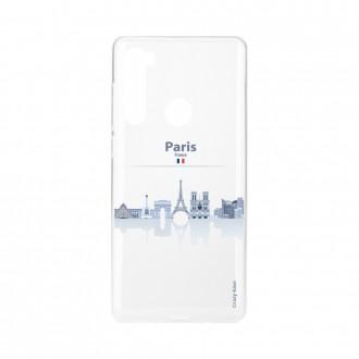 Coque Xiaomi Redmi Note 8 souple Monuments de Paris Crazy Kase