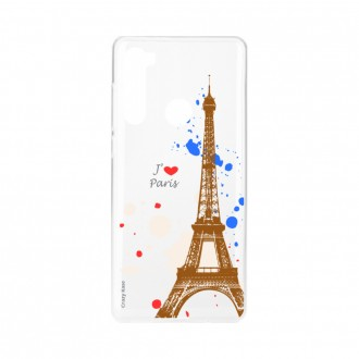 Coque Xiaomi Redmi Note 8 souple Paris Crazy Kase
