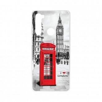 Coque Xiaomi Redmi Note 8 souple I love London Crazy Kase
