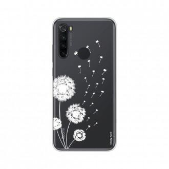 Coque Xiaomi Redmi Note 8 souple Fleur de pissenlit Crazy Kase