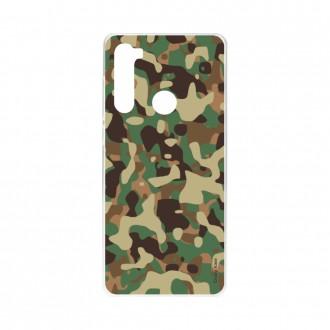 Coque Xiaomi Redmi Note 8 souple Camouflage militaire Crazy Kase