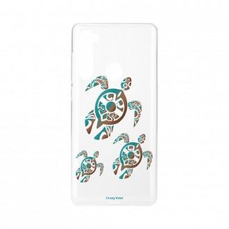 Coque Xiaomi Redmi Note 8 souple Famille Tortue Crazy Kase