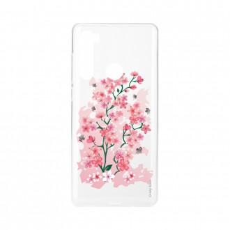 Coque Xiaomi Redmi Note 8 souple Fleurs de Cerisier Crazy Kase