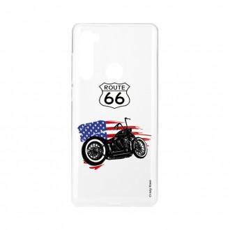 Coque Xiaomi Redmi Note 8 souple Moto Harley Crazy Kase