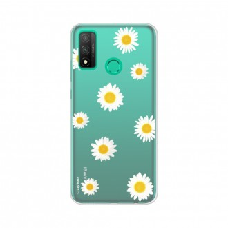 Coque Huawei P Smart 2020 souple Marguerite Crazy Kase