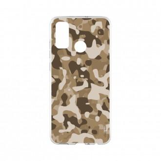 Coque Huawei P Smart 2020 souple Camouflage militaire désert Crazy Kase
