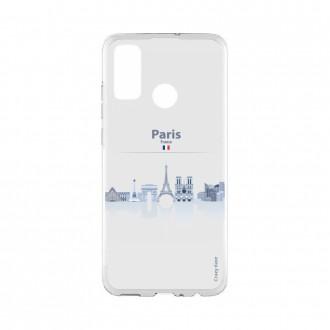 Coque Huawei P Smart 2020 souple Monuments de Paris Crazy Kase