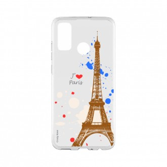 Coque Huawei P Smart 2020 souple Paris Crazy Kase