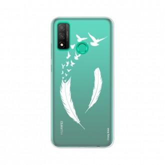 Coque Huawei P Smart 2020 souple Plume et envol d'oiseaux Crazy Kase