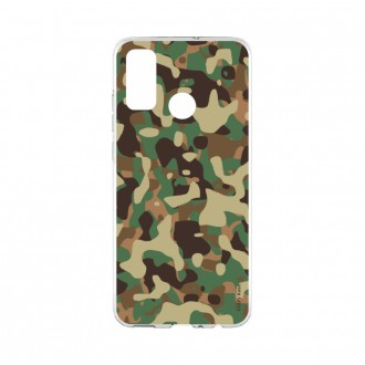 Coque Huawei P Smart 2020 souple Camouflage militaire Crazy Kase