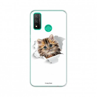Coque Huawei P Smart 2020 souple Chat mignon Crazy Kase