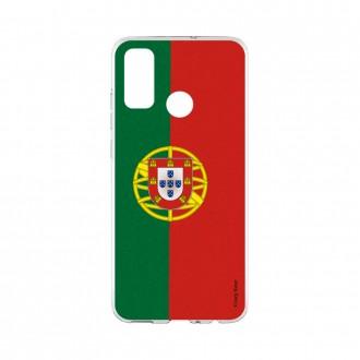 Coque Huawei P Smart 2020 souple Drapeau Portugais Crazy Kase