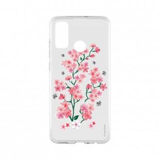 Coque Huawei P Smart 2020 souple Fleurs de Sakura Crazy Kase
